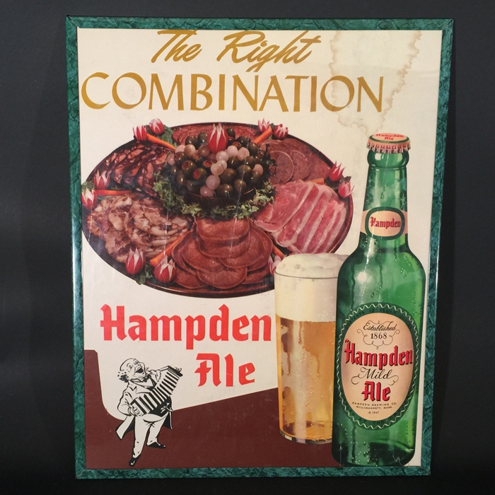 Hampden Johnnie Food Platter Beer