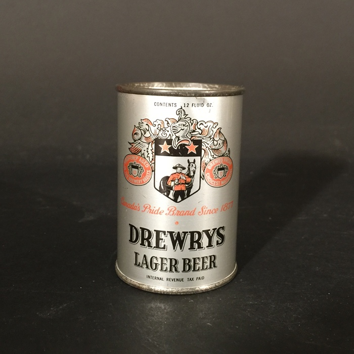 Drewrys Instructional Mini Can Beer