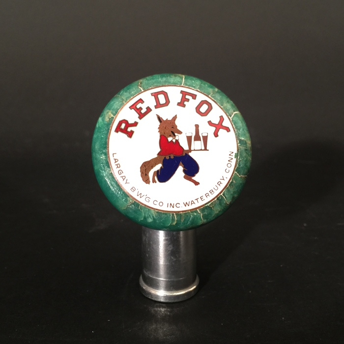 Red Fox Largay Tap Knob Beer