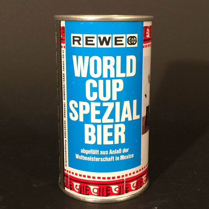 1970 World Cup Mexico El Salvador Soccer Futbol Beer