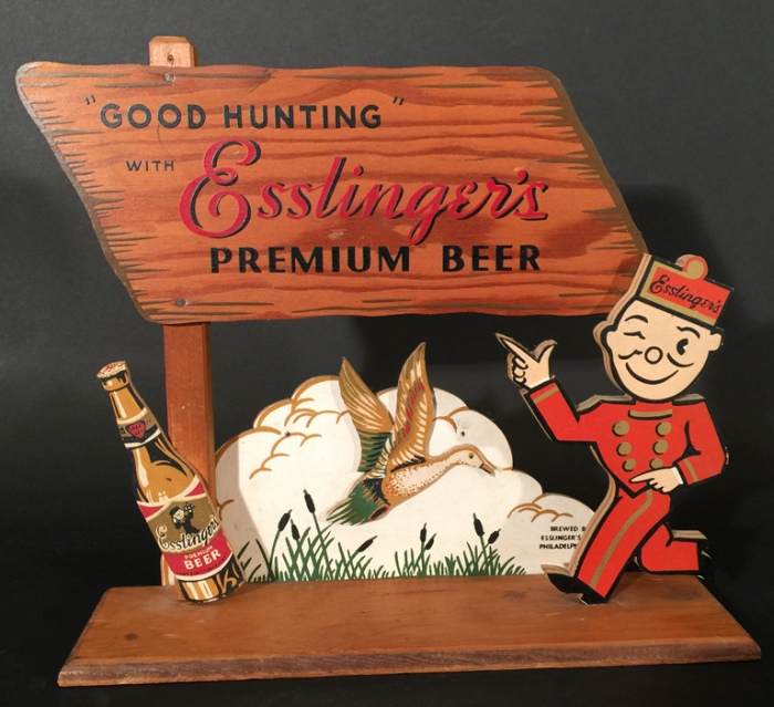 Esslinger's 3D Good Hunting Duck Beer