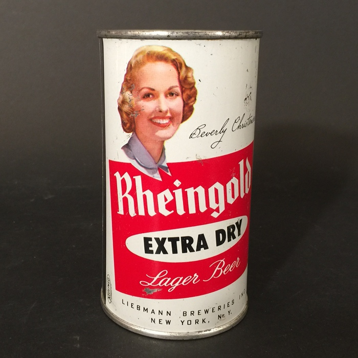 Rheingold Beverly Christensen 124-08 Beer