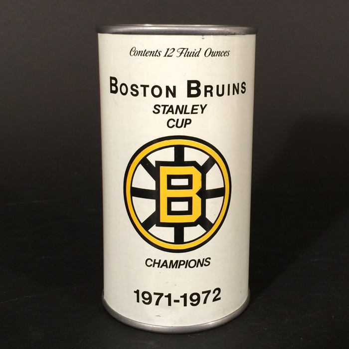 Boston Bruins Stanley Cup 71-72 Beer