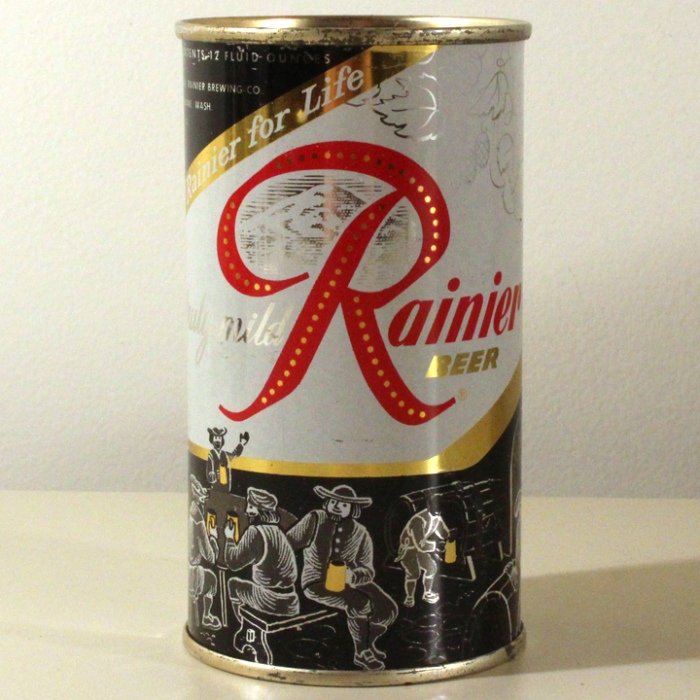 Rainier Beer Jubilee Black Brewery Scene L118-30 Beer