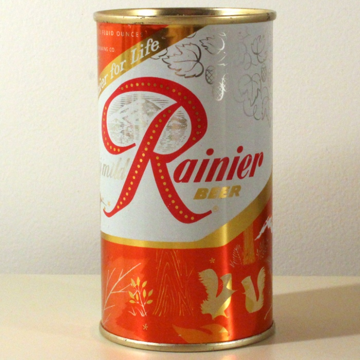Rainier Beer Jubilee Orange Hummingbird L118-30 Beer