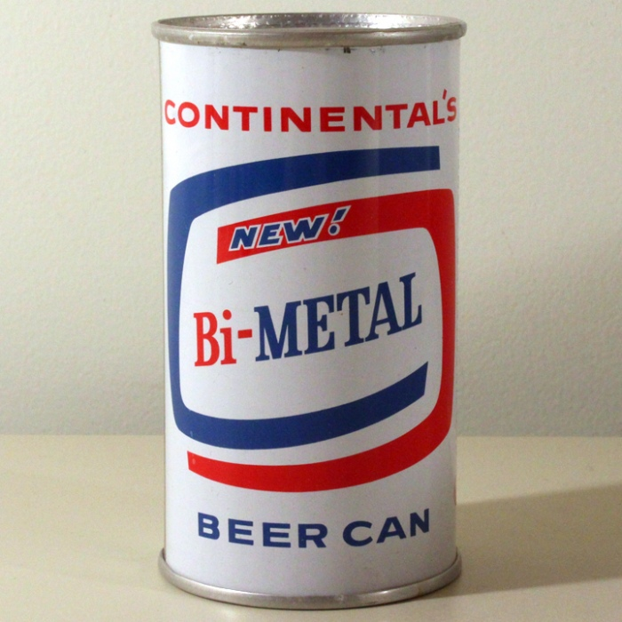Continental's New Bi-Metal Beer Can Beer