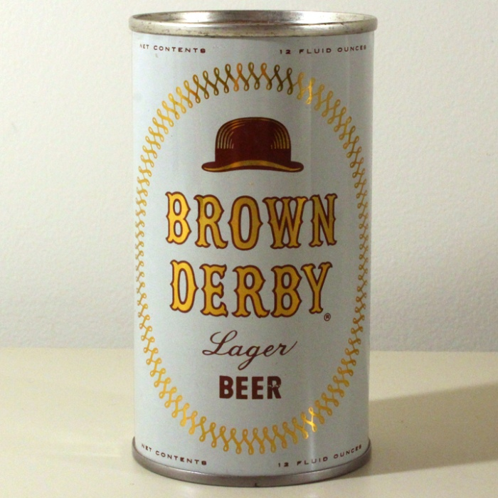Brown Derby Lager Beer 042-26 Beer