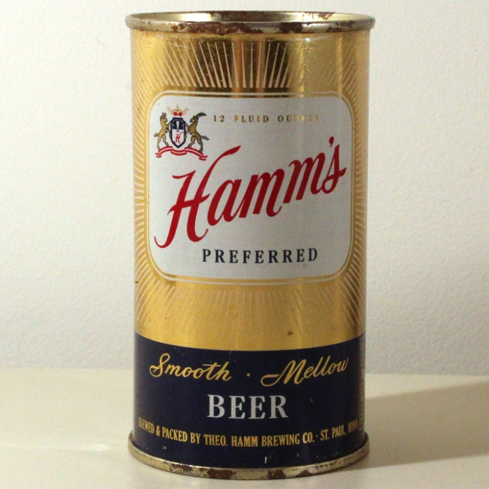Hamm's Preferred Smooth Mellow Beer 079-20 Beer