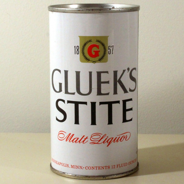 Gluek's Stite Malt Liquor 070-11 Beer
