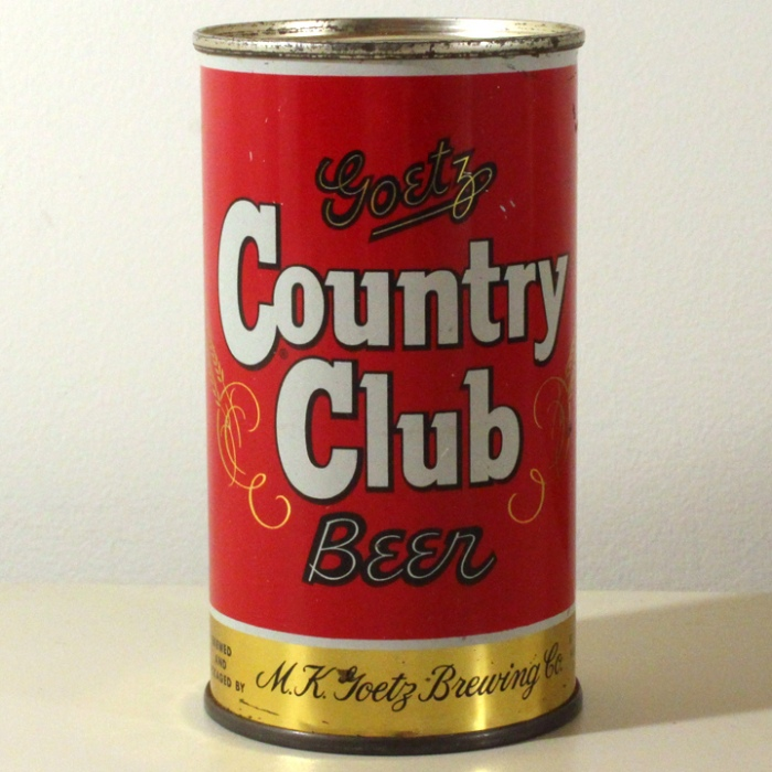 Goetz Country Club Beer 051-35 Beer