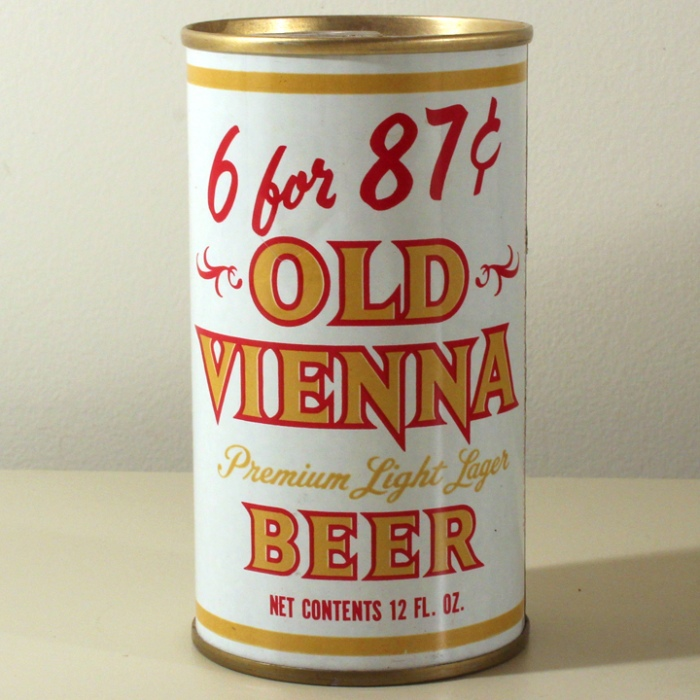 Old Vienna Premium Light Lager Beer 6 for 87 Cents 102-40 Beer