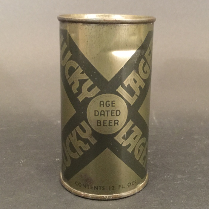 Lucky Lager Withdrawn Olive Drab 93-13 Beer