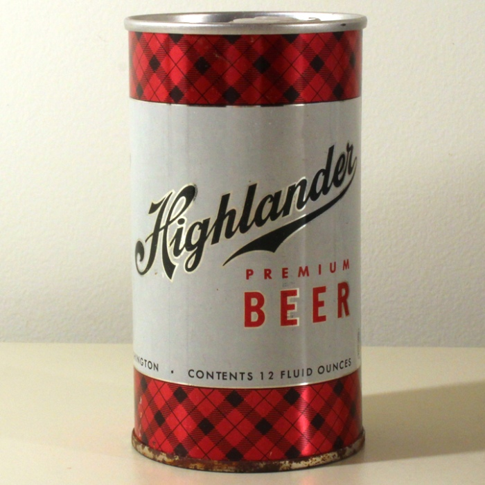 Highlander Premium Beer Seattle 076-16 Beer