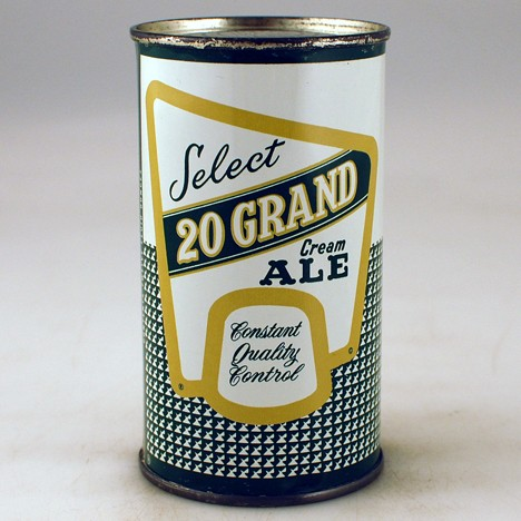 20 Grand Select Cream Ale 141-40 Beer