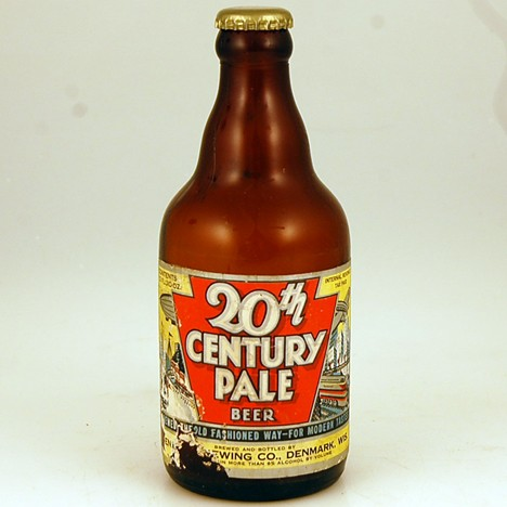 20th Century Pale Gold Cap Beer