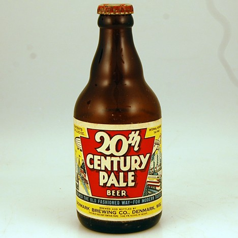 20th Century Pale Red Cap Beer