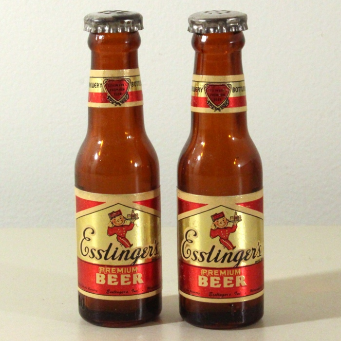Esslinger's Premium Set of 2 Mini Bottles Beer
