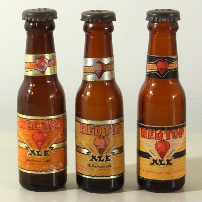 Red Top Ale Set of 3 Mini Bottles Beer