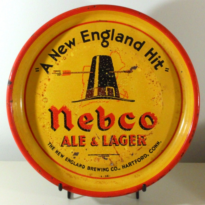 "Nebco Ale & Lager ""A New England Hit"" Beer"