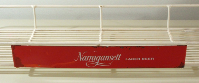 Narragansett Lager Beer Display Rack Beer