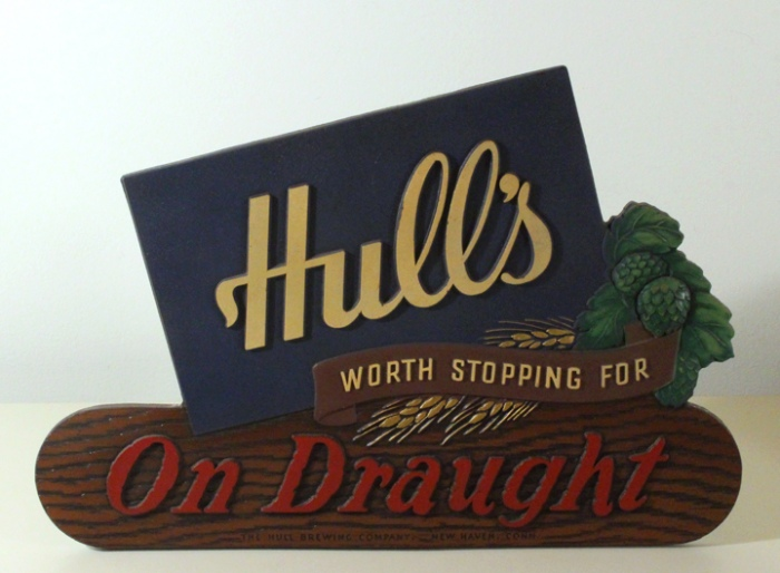 Hull's On Draught Self-Standing Composite Sign Beer