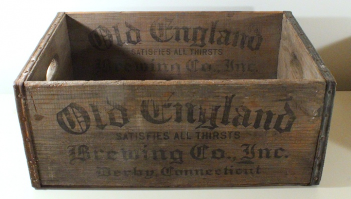 Old England Crate Beer