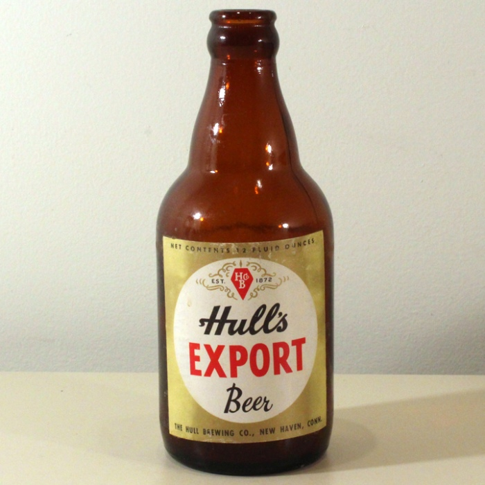 Hull's Export Beer Steinie Bottle Beer