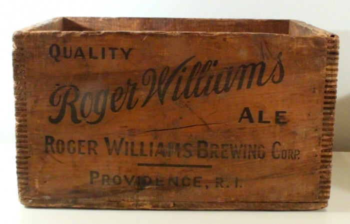 Roger Williams Ale Crate Beer