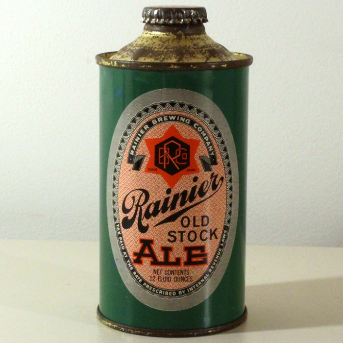 Rainier Old Stock Ale 180-03 Beer