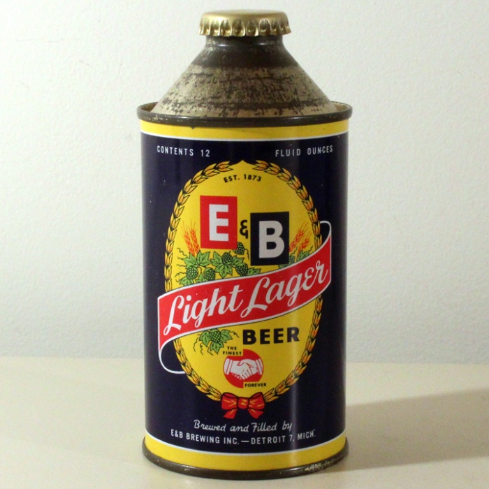 E&B Light Lager Beer 160-17 Beer