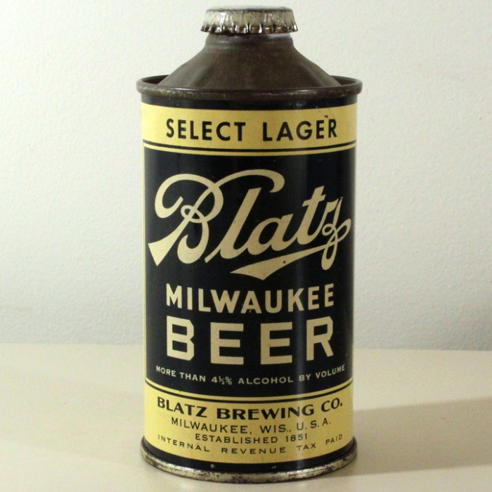 Blatz Milwaukee Beer 153-12 Beer