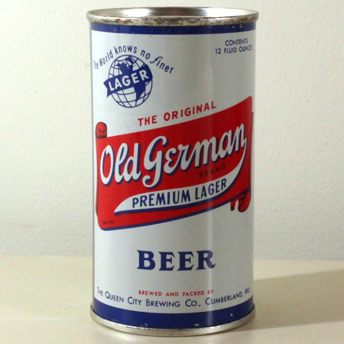 Old German Premium Lager Beer 106-30 Beer