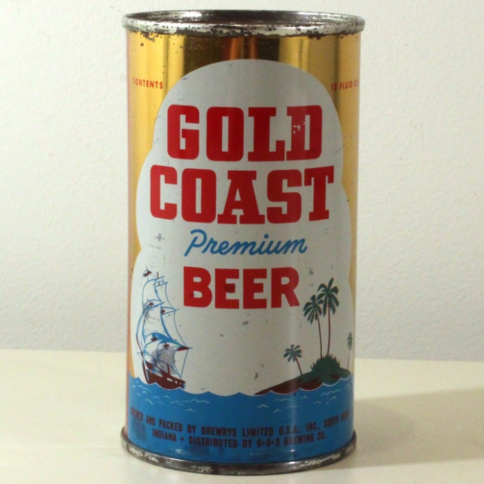 Gold Coast Premium Beer 071-34 Beer