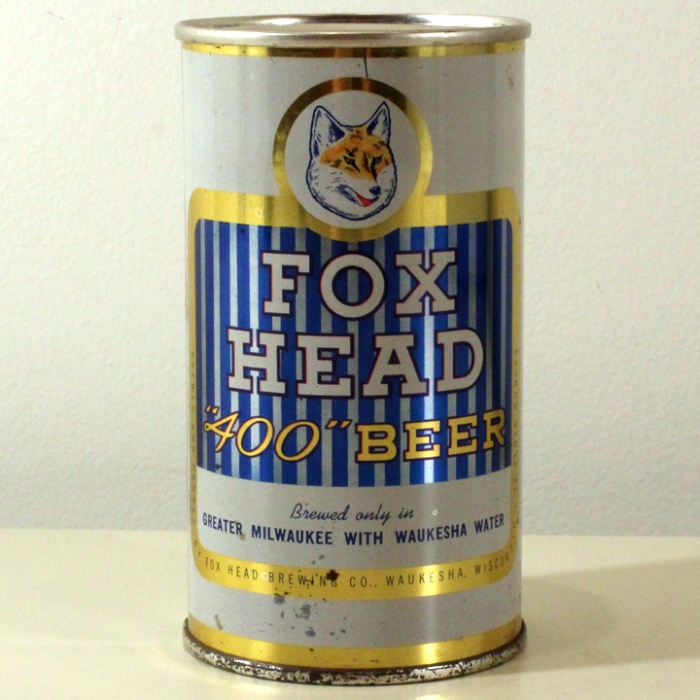 "Fox Head ""400"" Beer 066-14 Beer"