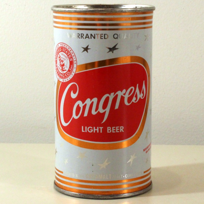 Congress Light Beer 051-02 Beer