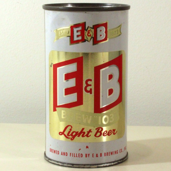 E&B Brew 103 Light Beer 058-31 Beer
