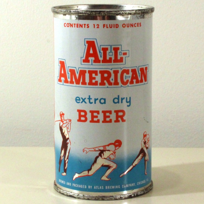 All-American Extra Dry Beer 029-27 Beer