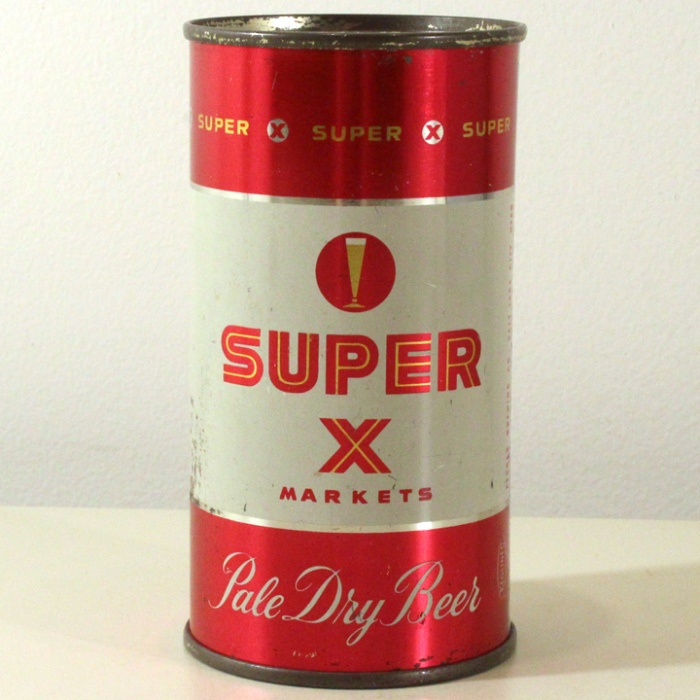 Super X Markets Pale Dry Beer (Fisher) 138-01 Beer