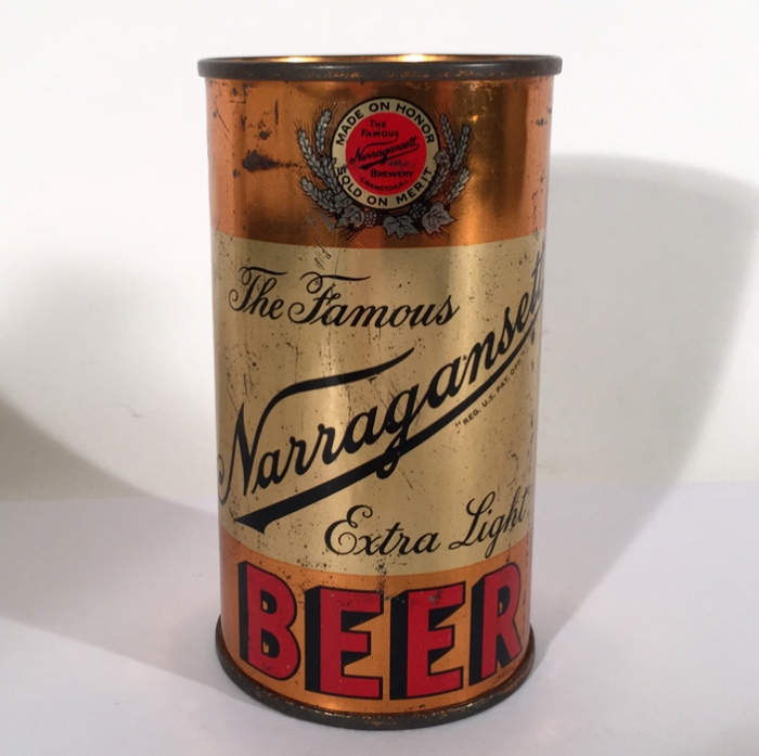 Narragansett Extra Light Beer Can Beer