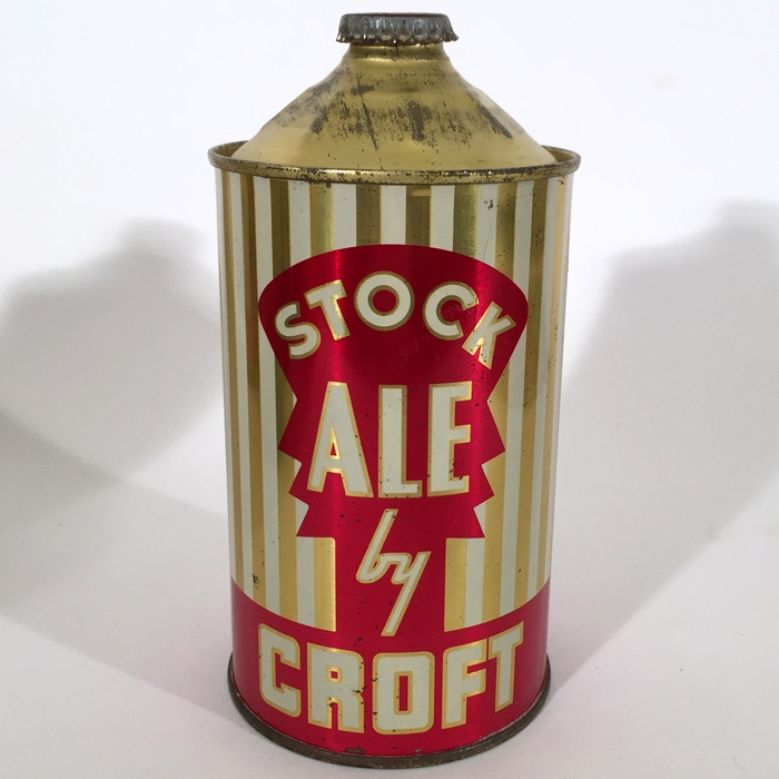 Stock Ale by Croft Quart Cone 206-05 Beer