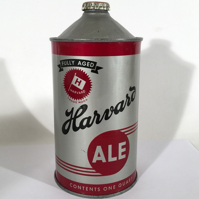 Harvard Ale Quart Cone 211-18 Beer