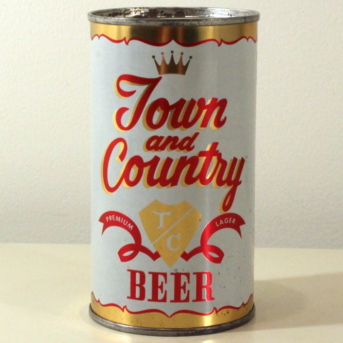 Town And Country Premium Lager Beer 139-16 Beer