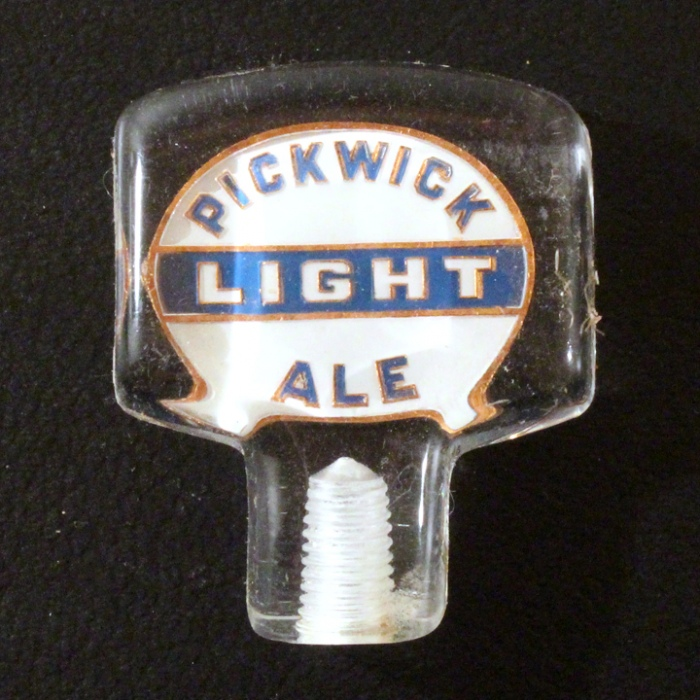 Pickwick Light Ale Lucite Beer