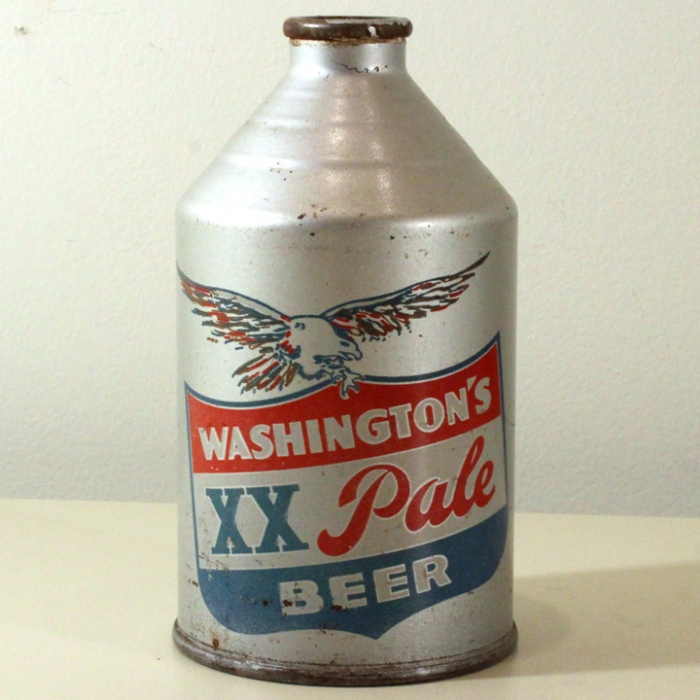 Washington's XX Pale Beer 3.2-7% 199-23 Beer