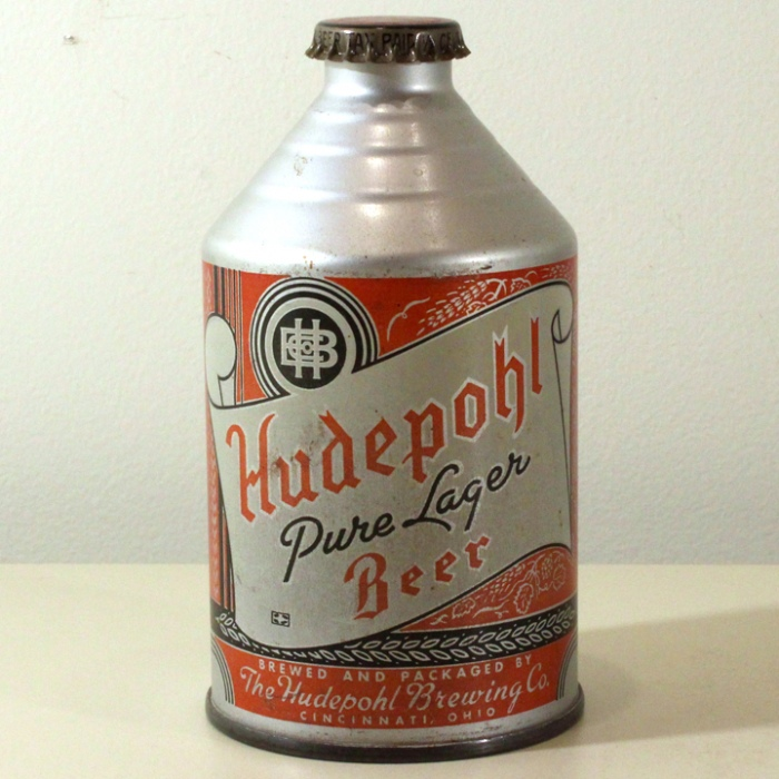 Hudepohl Pure Lager Beer 195-24 Beer