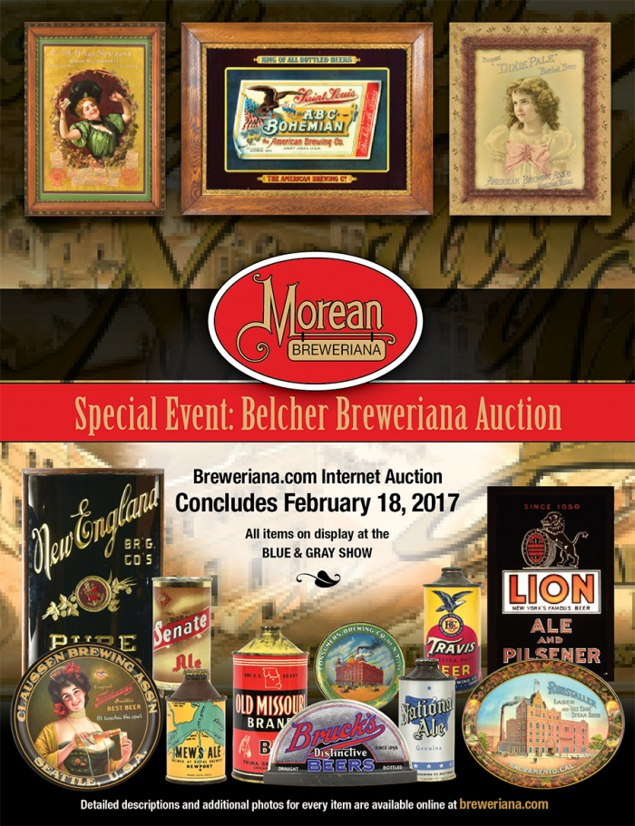 Belcher Breweriana Auction Catalog Beer