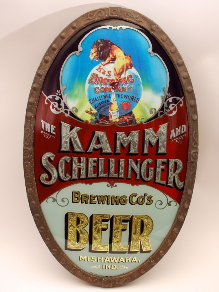 Kamm Schellinger RPG Corner Sign Beer