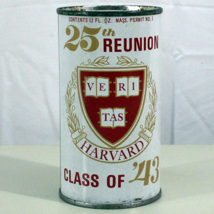 Black Label Harvard Class of '43 Reunion 216-08 Beer