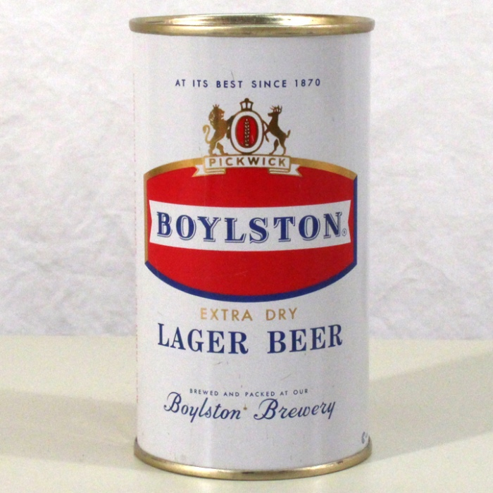 Boylston Extra Dry Lager Beer 041-02 Beer