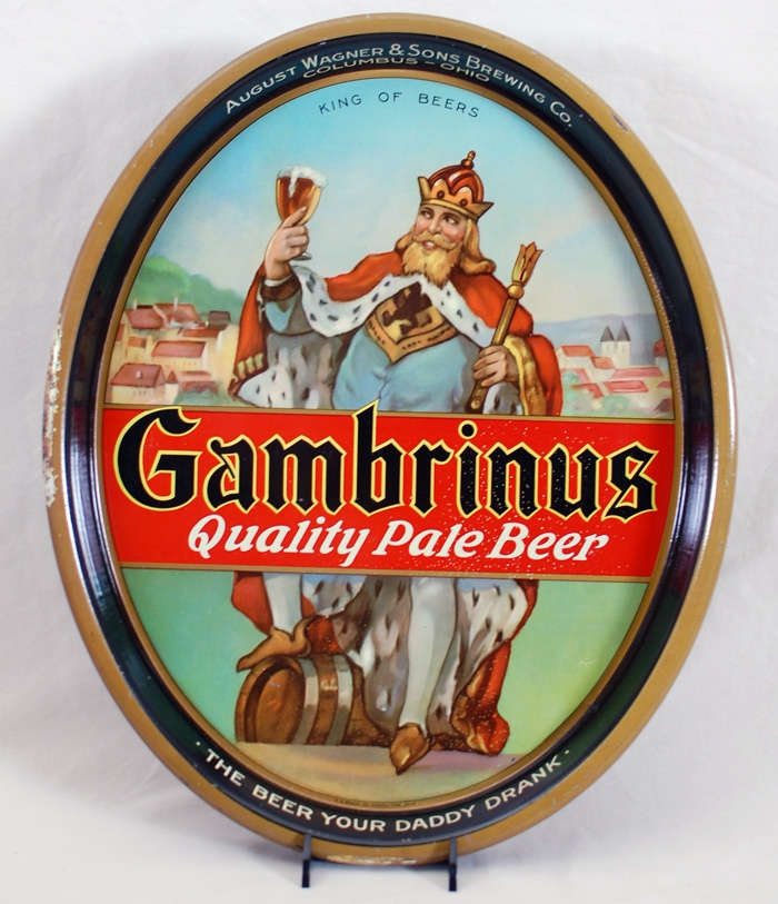 August Wagner King Gambrinus Beer